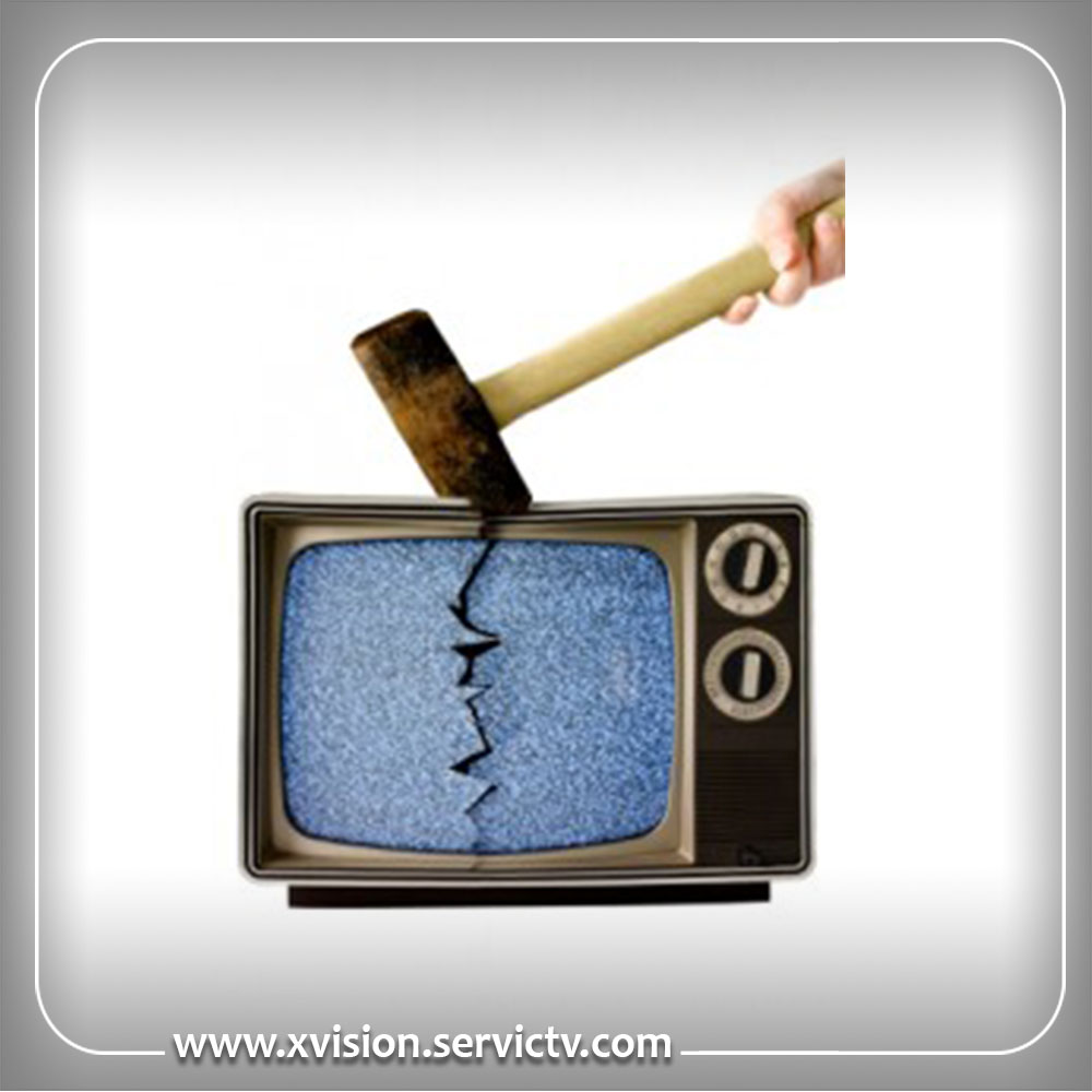 تعمیر تلویزیون ایکس ویژن البرز