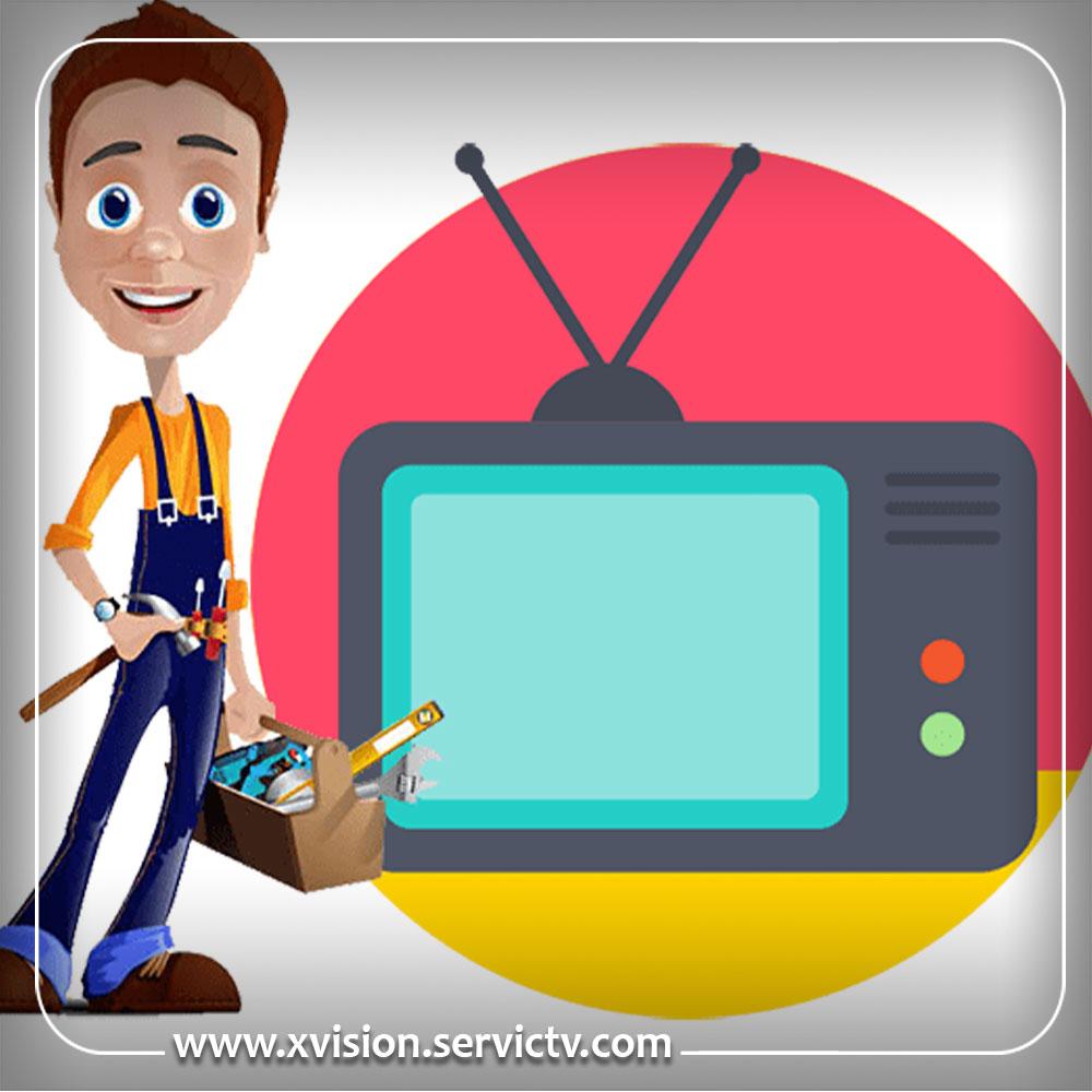 تعمیر تلویزیون ایکس ویژن هشتگرد