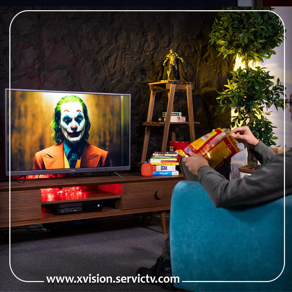 تعمیر تلویزیون ایکس ویژن نازی آباد