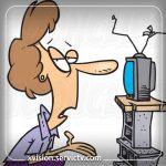 تعمیر تلویزیون ایکس ویژن بهارستان