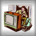 تعمیر تلویزیون ایکس ویژن مولوی