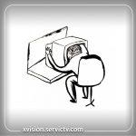 تعمیر تلویزیون ایکس ویژن تهران نو