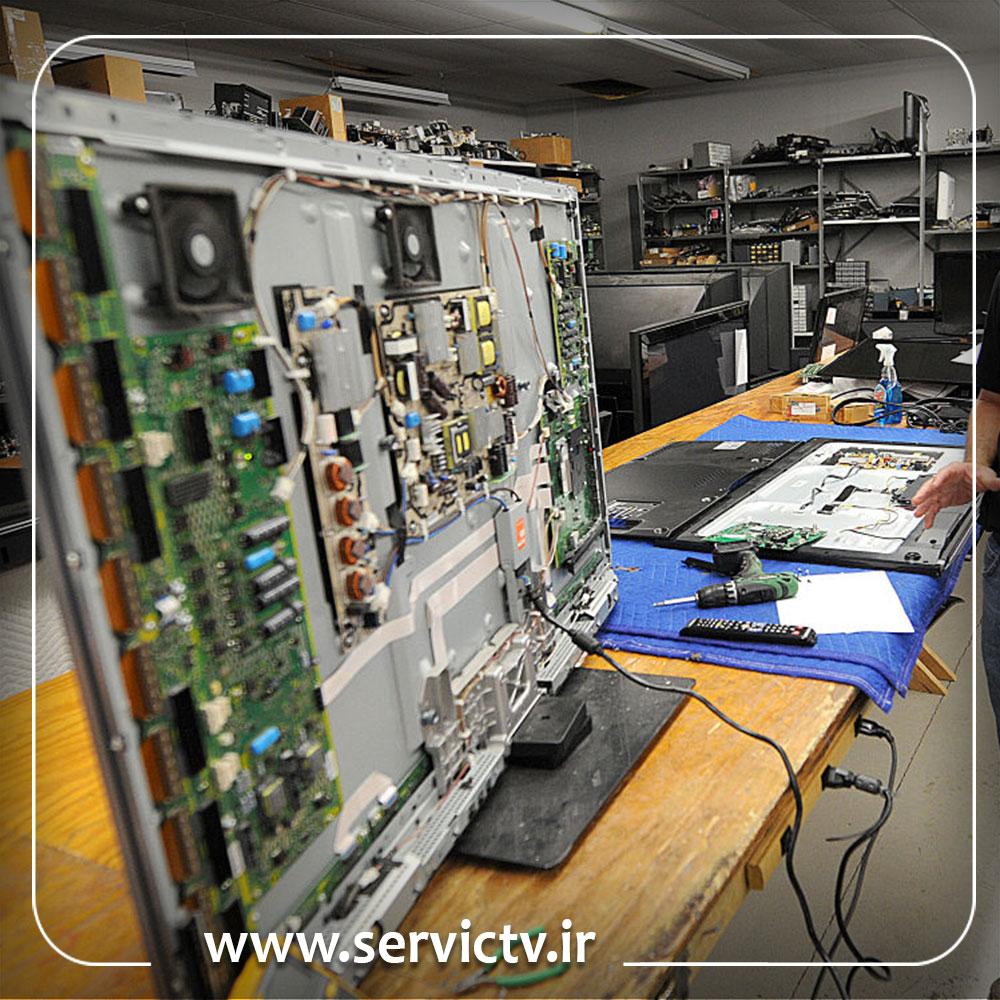 تعمیر تلویزیون ایکس ویژن منیریه