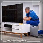 تعمیر قطعات تلویزیون ایکس ویژن