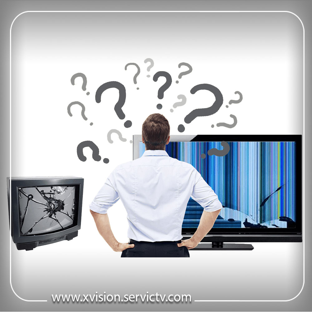 تعمیر پنل تلویزیون ایکس ویژن