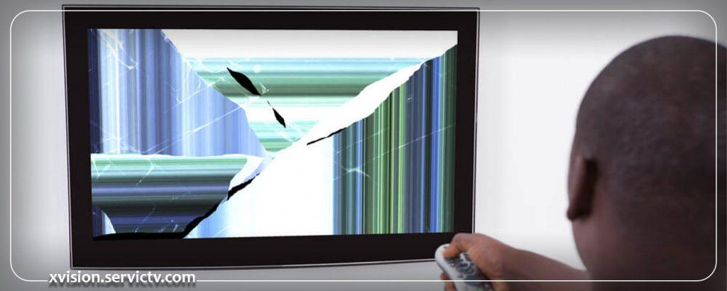 تعویض پنل تلویزیون ایکس ویژن