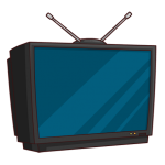 تعمیر خط روی تلویزیون